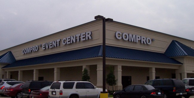 compro event center beaumont texas